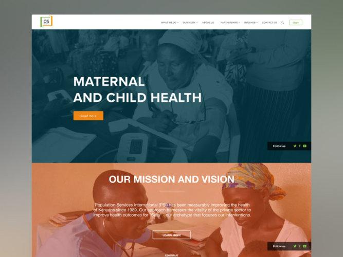 PS Kenya – Website