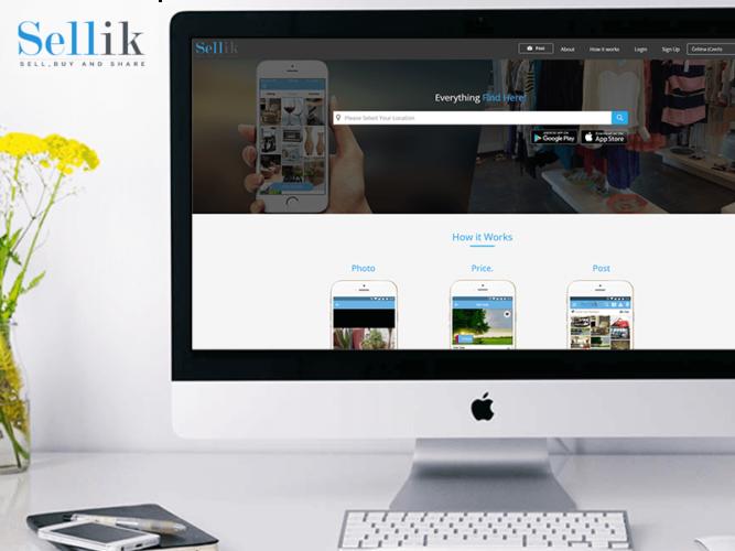 Sellik – Web Design
