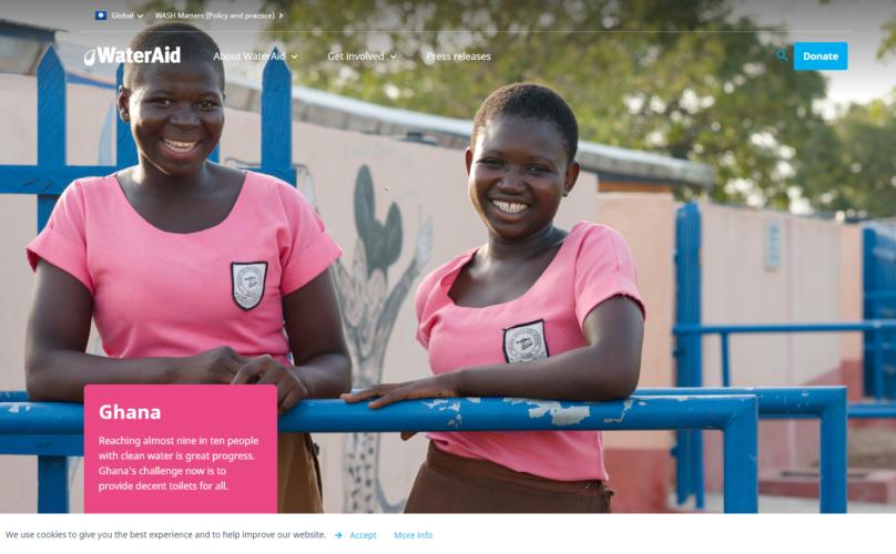 WaterAid Ghana – Digital Strategy